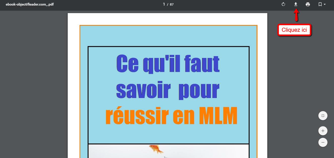 telechargez ebook objectif leader mlm